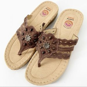 Earth Spirit Leather Southwest Comfort Sandals